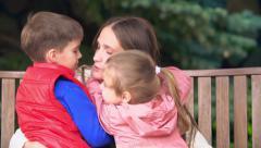 Happy Motherhood - stock footage