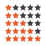 Rating stars icon Stock Illustration