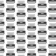 Printer pattern background Stock Illustration