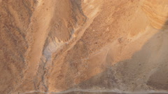 View from Masada, Israel, Middle East, Asia Stock Footage