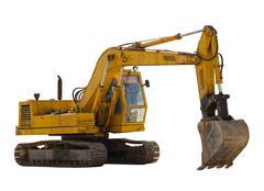 Stock Photo of Old excavator