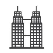 Stock Illustration of Office building icon