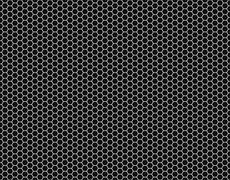 Grille Hexagonal cell texture - stock illustration