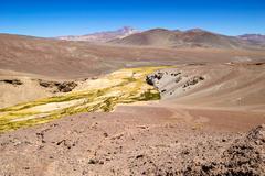Chile, Atacama Desert, River Stock Photos