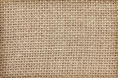 Close up photo of natural linen, texture or background Stock Photos