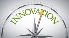 Compass innovation - stock footage