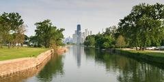 USA, Illinois, Chicago skyline Kuvituskuvat