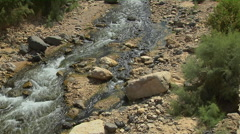 Ma'In Hot  Water Spring in Jordan Stock Footage
