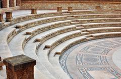 agadir medina stairs - stock photo
