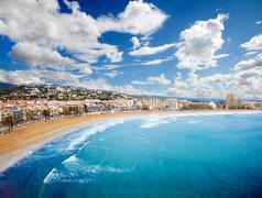Beach Coast at Spain - stock photo