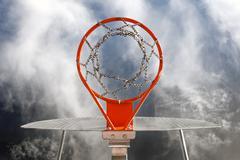 Basketball goal Kuvituskuvat