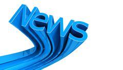 Word News Stock Illustration