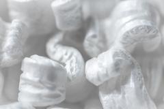 Polystyrene Chips Stock Photos