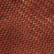 Braided leather texture - stock photo