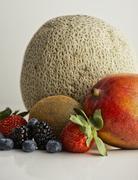 Studio shot of fruits variation Stock Photos