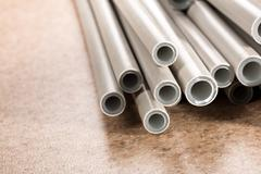 Plastic tubes - stock photo