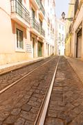 Stock Photo of Tram-lines