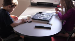 Computer repair project - stock footage