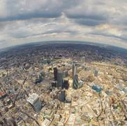 United Kingdom, England, London, Aerial view of city with skyscrapers Kuvituskuvat