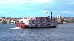 Sydney Harbour Boat Tours Stock Footage