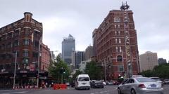 Sydney george street Stock Footage