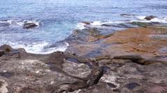 Sydney Bondi beach and bay area Stock Footage