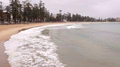Sydney Manly Beach Stock Footage