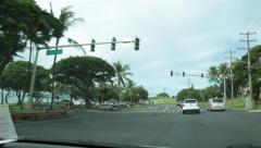 Kihei, Maui, Hawaii, driving Stock Footage