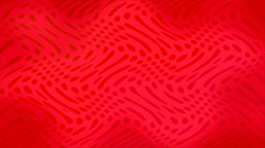 Red Psychedelic Animation Stock Footage