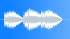 User interface error. Sound Effect