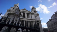 Saint Paul's Cathedral 2 Stock Footage