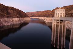 Lake Mead The Colorado River Hoover Dam Nevada Arizona Kuvituskuvat