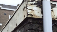Social housing ready for demolition Stock Footage
