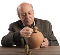 Pension and savings - stock photo