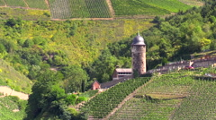 Round Tower Runde Turm Pulverturn Zell Germany Stock Footage