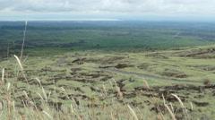 Landscape from Masaya vulcano Stock Footage