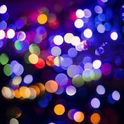 Colorful blur light party celebration background Stock Photos