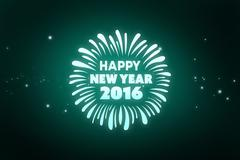 Stock Illustration of Composite image of new year graphic