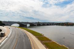 Arlington Memorial Bridge, Washington DC - stock photo