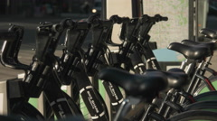 Bike Share Toronto Stock Footage