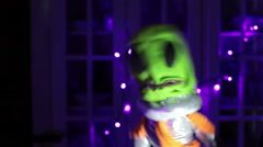 dancing alien funny comedic low budget scifi - stock footage