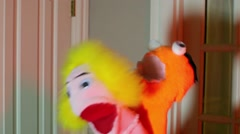 puppets having sex puppet porn funny comedic XXX mating - stock footage