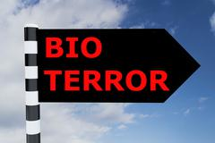Bio Terror concept Stock Illustration