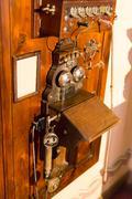 Antique telephone Stock Photos