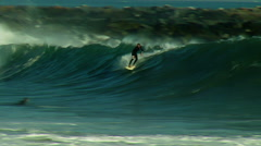 Surfer at The Wedge Stock Footage