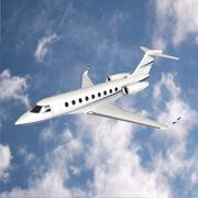 Gulfstream G280 business jet 3D Model