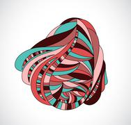 Abstract drawing. Stock Illustration