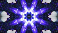 VJ Loop Color Energy Kaleidoscope - stock footage