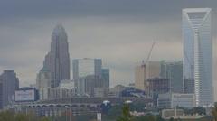 Charlotte north carolina Stock Footage
