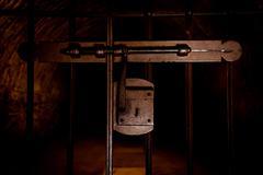 Medieval Jail Entrance - stock photo